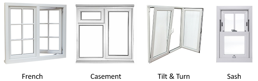 Cheap Double Glazed UPVC Windows